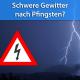 Unwetter nach Pfingsten 2018