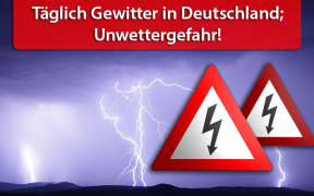 Unwetter-Welle Ende Mai und Anfang Juni 2018