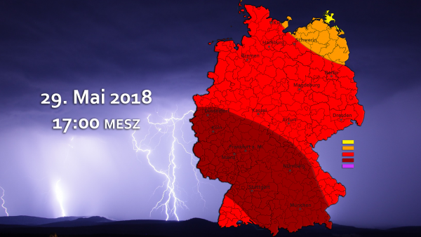 Schwere Unwetterlage am 29. Mai 2018