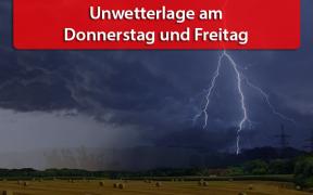 Unwetterlage am 07. und 08. Juni 2018