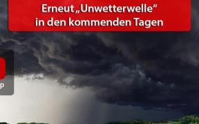 Unwetterlagen Anfang und Mitte Juni 2018