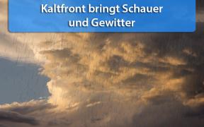 Schauer und Gewitter am 21. Juni 2018