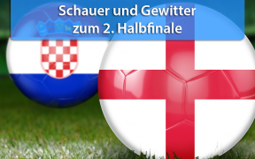Wetter zum zweiten WM-Halbfinale