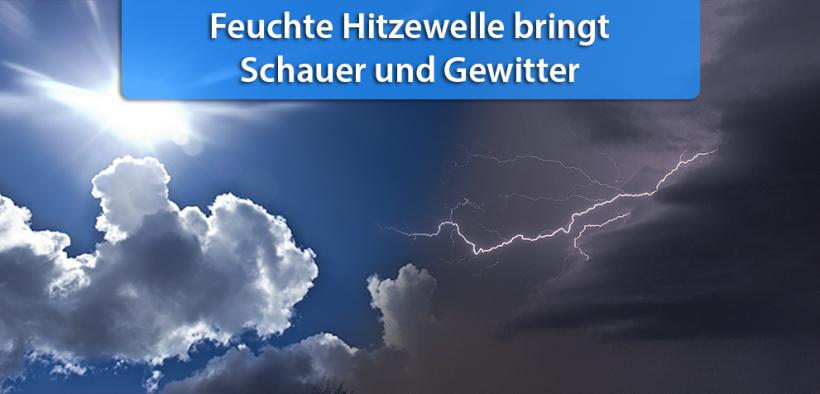 Schauer und Gewitter Mitte Juli 2018