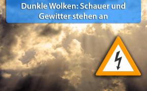 Kräftige Schauer und Gewitter am 20. und 21. Juli 2018
