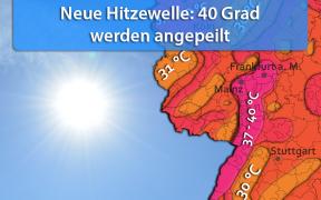 Extreme Hitzewelle vom 02. bis 05. August 2018