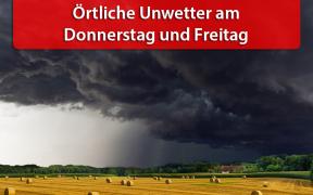 Unwetter am 23. und 24. August 2018