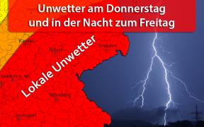 Unwetter am 23. August 2018