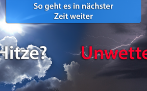 Wettertrend Ende August 2018