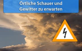 Wettergefahren-Trend Anfang September 2018