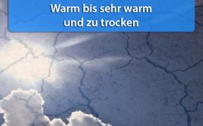 Warm bis sehr warm und trocken Mitte September 2018