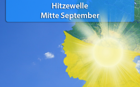 Hitzewelle Mitte September 2018