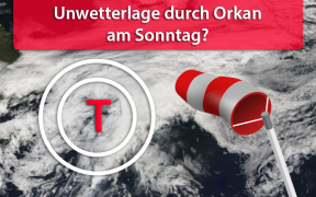 Orkan am 23. September 2018