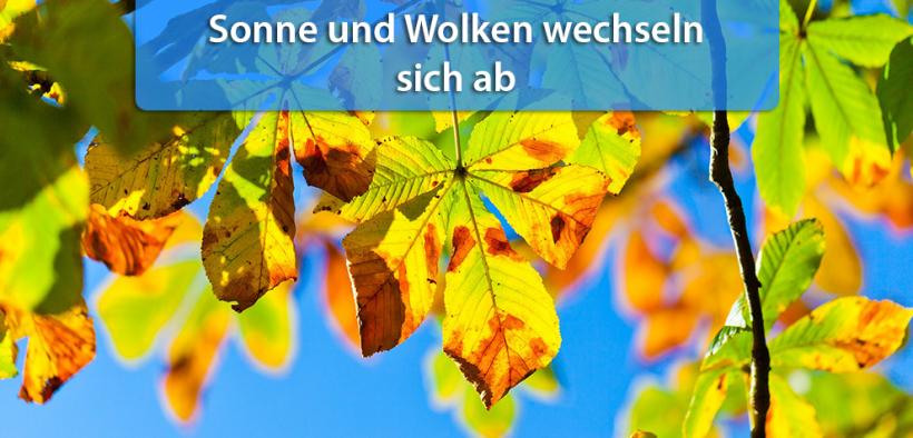 Trockenes Herbstwetter Ende September