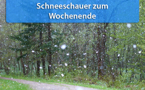 Schnee in den Mittelgebirgen