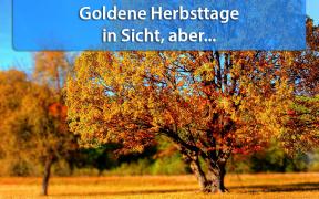 Goldene Herbsttage Anfang Oktober 2018
