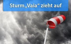 Sturm Vaia am 30. Oktober 2018