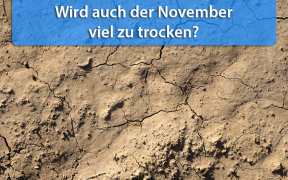 Trockenheit November 2018