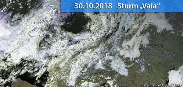 Sturm Vaia 2018