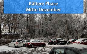 Kältere Phase Mitte Dezember 2018