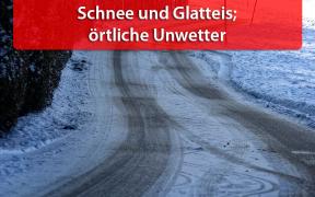 Schnee und Glatteis am 16.12.2018