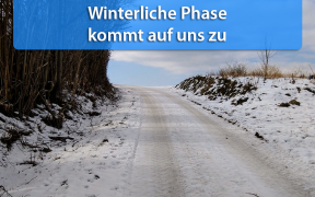 Winterliche Phase Anfang Januar 2019