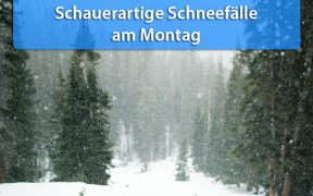 Schnee am 28. Januar 2019