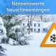 Viel Schnee Ende Januar 2019