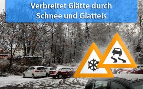 Schnee und Glatteis am 01. und 02. Februar 2019