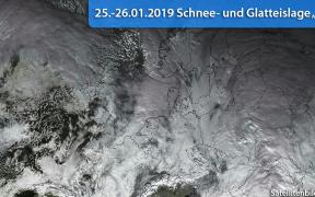 Schnee- und Glatteislage Martin 2019