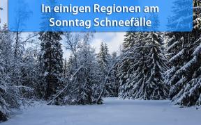 Dauerschneefälle am 03 .Februar 2019