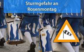 Sturm an Rosenmontag 2019