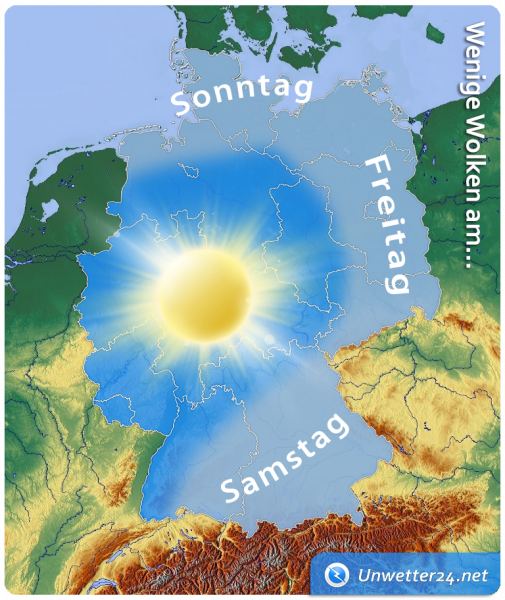 Sonniges Wetter Mitte Februar 2019