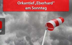 """Orkan """"Eberhard"""" am 10. März 2019"""