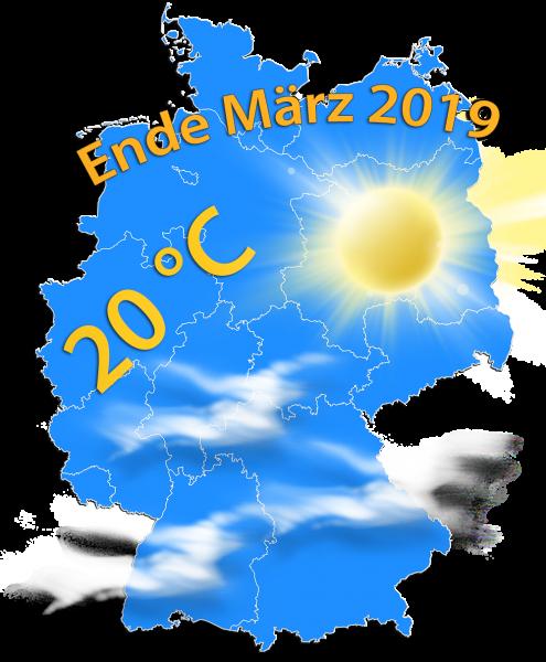 Milde Lage Ende März 2019