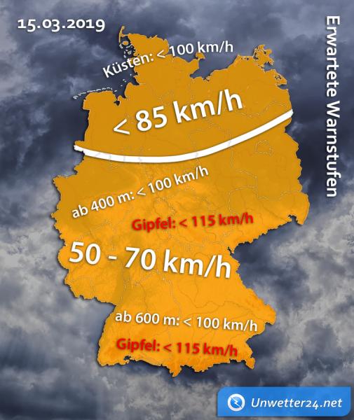Sturm Heinz am 15. März 2019