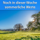 Sommerliche Temperaturen Ende April 2019