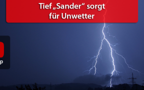 "Unwetterlage ""Sander"" am 24. April 2019"