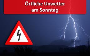 Örtlich unwetterartige Gewitter am 19. Mai 2019