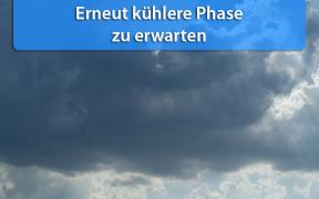 Kühlere Phase Ende Mai 2019