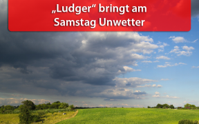 Gewittertief Ludger am 15. Juni 2019