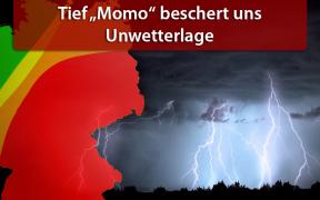 Gewittertief Momo am 19. und 20. Juni 2019