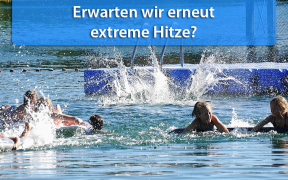 Extreme Hitze Ende Juli 2019
