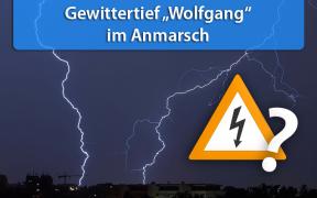 """Gewittertief """"Wolfgang"""" am 31. Juli 2019"""