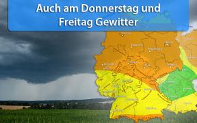 Gewittertief Wolfgang 2019