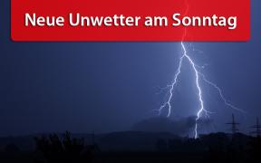 Unwetter am 11. August 2019