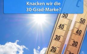 30 Grad oder mehr Ende August 2019?