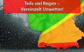Dauerregen am 20. und 21. August 2019