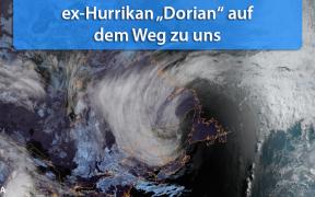 Hurrikan Dorian Europa