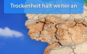 Trockenheit Mitte und Ende September 2019